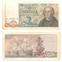Billete Italia 5000 Liras 1971