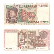 Billete Italia 5000 Liras 1979