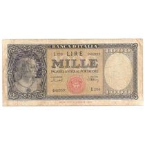 Italia, 1000 Lire, 1949. P#88b. Raro. F