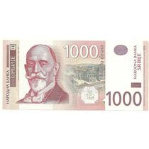 Billete Serbia 1000 Dinara Año 2011 Sin Circular