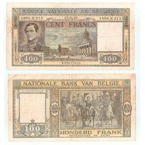 Billete Belgica 100 Francos 1946