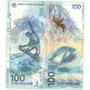 Billete Rusia 100 Rublos Año 2014 Hibrido Olimpiada Sochi
