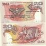 Billete Papua Nueva Guinea 20 Kina Año 1981/5 Oferta!!!