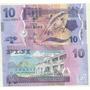 Nuevo Billete Fiji 10 Dolares Año 2013 Pez Sin Circular
