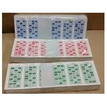 1008 Cartones Troquel Cupones Bingo Serie Completa -congreso