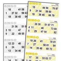 Cartones Para Bingo Y Loteria Serie Completa X 2040 Cartones