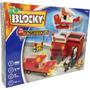 Blocky Bomberos 2 192 Piezas Articulado Ladrillos Dimare