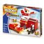 Blocky Bomberos 2 Tipo Rasti Con 192 Piezas Original Dimare