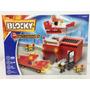Blocky Bomberos 192 Piezas Bloques Ladrillos Rasti Lego