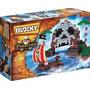 Blocky Isla Pirata 320 Piezas C/muñeco + 5 Años Kidplay
