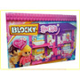 Blocky House 4 Ambientes 230 Piezas Bloques