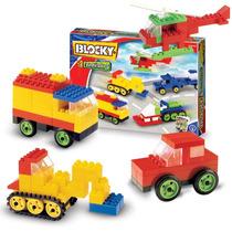 Blocky Vehiculos 3 P Armar Autos Camiones Y Mas! 200 Piezas