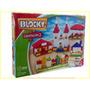 Blocky Construcción 2 Ladrillos Techos Bloques 200 Piezas