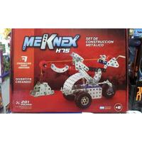 Set Construccion Metalico Meknex K75 201 Piezas Tipo Mecano