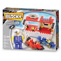 Blocky Competición 2 Arma Autos De Carreras Tipo Rasti Lego