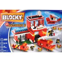 Blocky Bomberos 460 Piezas Bloques Ladrillos Tipo Rasti Lego
