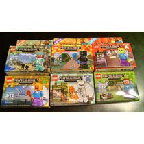6 Muñecos Minecraft