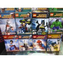 Super Heroes Bloques Para Armar