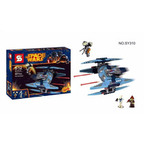Star Wars Nave De Guerra Interceptor Bloques Sy Simil 221pcs