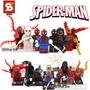 Hombre Araña Super Héroes Avengers Minifiguras Sy X8 Nuevo