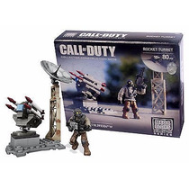 Call Of Duty Rocket Turret Figura Original Mega Bloks Usa
