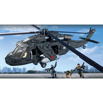 Mega Bloks Call Of Duty Helicoptero Bloque Construccion 6858