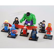Super Heroes - Vengadores - Avengers X8 - Lego Compatible