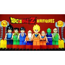 Dragon Ball Z Goku Minifiguras Lele X8 Nuevo