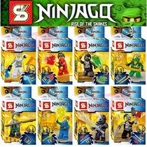 Ninjago Ninja Rebooted Minifiguras Sy X 8 Nuevo Calaz Toys