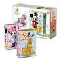 Bimbi Disney Baby 6 Cubos Rompecabezas Mickey - Mundo Manias