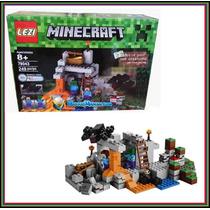 Minecraft La Cueva The Cave 249 Piezas 21113