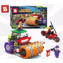 Super Heroes Batman Guason Steam Roller Robin Moto - Simil