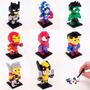 Combo 8 Superheroes Para Armar Mini Bloques