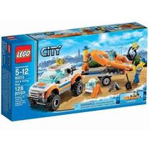 Lego City 60012 Guarda Costa 4x4 Con Bote
