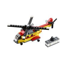 Lego Creator 31029. Helicóptero De Carga, 3 En 1.