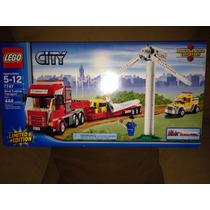 Camion Transporte Aerogenerador Lego City 7747 Edicion Ltda