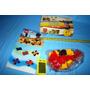 Lego System Chino Excavadora Auto 47 Piezas Stickers Sin Uso