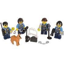 Lego City. Playset. Muñecos Figuras. Policías Stock!!!!