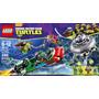 Juego Para Armar Lego Tortugas Ninjas 79120