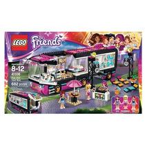 Lego Friends Pop Star Tour Bus 41106 L Mas Nuevo De Lego
