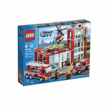 Lego City Fire Station 60004 Estación De Bomberos 752 Pzs