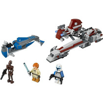 Lego Star Wars 75012 Barc Speeder With Sidecar 226 Pzs Y 4 F