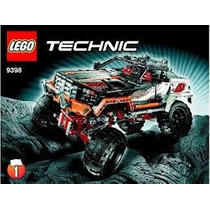 Lego Technic 4x4 Crawler Monster Truck 9398 A Control Remoto