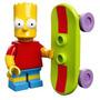 Lego Simpsons Serie 1 -bart Exclusivos Originales