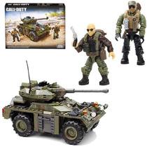 Tanque Mega Bloks Call Of Duty C/ Minifiguras Soldados Armas
