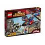 Lego Superheroes 76016 Helicoptero De Rescate Hombre Araña