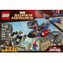 Lego 76016 Spider Helicopter Rescue