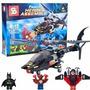Bloques Sy Helicoptero Batman Super Heroes Mini Figuras 313