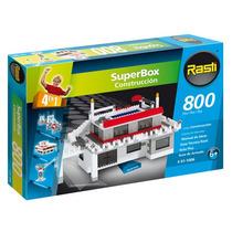 Rasti Superbox Construccion 800 Piezas 4 Modelos Para Armar
