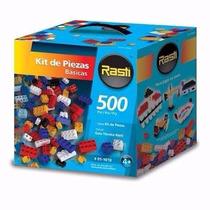 Rasti Kit 500 Piezas Basicas Juguete Bloques Ladrillos